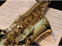 Saxophone lessons in Glasgow. 1st Lesson is free!