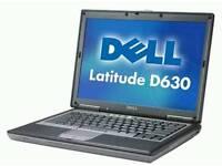 Dell Latitude D630 - SSD - Windows 10 Laptop