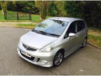 2007 Honda Jazz 1.4 I-DSI Sport Model With The Bodykit. Beautiful Looking Car, Looks Amazing.