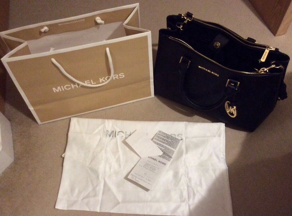 Michael Kors Large Sutton Saffiano Leather Handbag