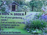 Professional Gardening Service