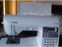 used brother innov is 350 special edition sewing machine, perfect condition