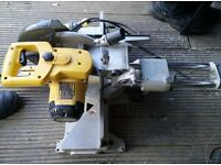 Dewalt DW712 lx 110V Compound Mitre Saw