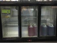Under counter 3door fridge