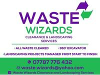 Waste/Rubbish clearance and landscaping services
