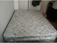 Lovely and well taken care of Double Divan Bed and Mattress