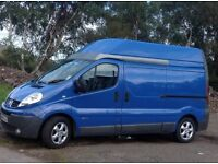 RENAULT TRAFIC HIGH ROOF CAMPER CONVERSION