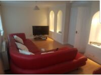 Sofology red leather corner sofa