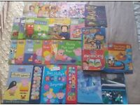 25 Children's books, Ben & Holly, Peppa, sound books, Doc, Frozen busy book. Perfect for Christmas