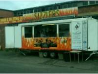 Catering trailer and pitch buisness