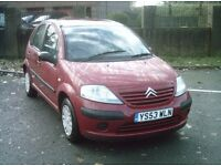 CITROEN C3 DESIRE, 5 DOOR HATCHBACK, RED, 1.3 Petrol, Manual*LONG MOT
