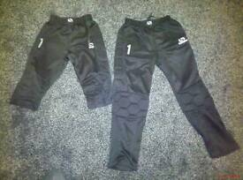 Goalkeeper trousers age 13 and shorts age 11/12