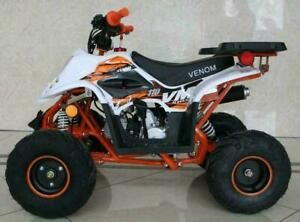 FREE SHIPPING NEW Venom Mini Madix 110cc ATV Quad VTT - Speed Limiter + Reverse + 6-Months Warranty + Remote Kill Switch
