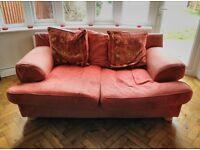 3-Seater Sofa, 2-Seater Sofa and Pouffe