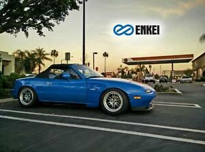 Enkei RPF1 15x7 +35 4x100 Track Setup For Miata ( NA / NB ) - WHEELSCO