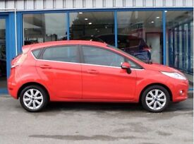 FORD FIESTA ZETEC RED 1.25 5DR 59 PLATE