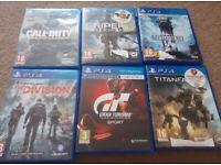 6 ps4 games