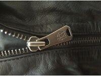 Designer Leather Jacket * Medium * New * One Green Elephant * Japan * RRP 399