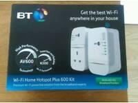 BT Wi-Fi Extender Powerline Adapter