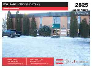 Newly renovated office space for lease - 2825 Saskatchewan Drive