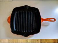 Le Creuset 26cm cast iron griddle pan