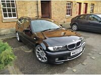 2005 Black BMW 320d M-Sport Touring (Full Service History)