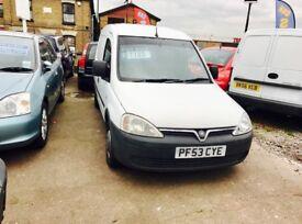 ✅ 2004 (53) Vauxhall Combo 1.7 DTi 2000 Panel Van 3dr ✅