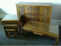 Chinese hand carved furniture
