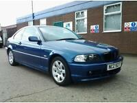 bmw 325 i se o2 reg 2002 .104,000 miles from new