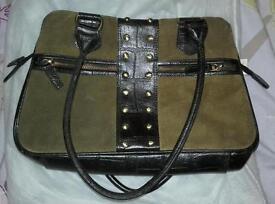 Handbag (real leather)