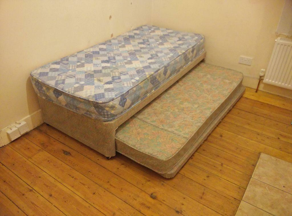 Single Bed With Under Bed And 2 Single Mattresses Bargain Price In Leyton London Gumtree