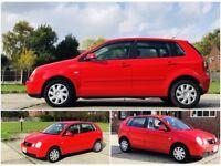 2005 VW POLO AUTOMATIC 1.4 SE 5 DOOR 1 OWNER MOT/TAX A/C SAME CIVIC/JAZZ/YARIS/CORSA/ASTRA/FIESTA