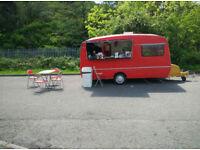 Vintage catering trailer