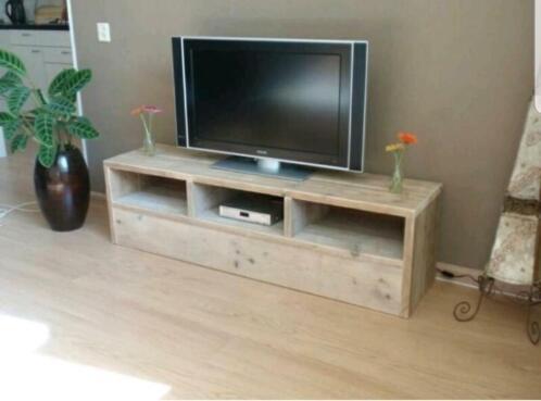 Flatscreen Tv Meubel.Nieuwe Steigerhouten Tv Meubel Kasten Tv Meubels