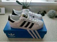 * brand new * adidas superstars
