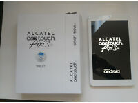 ALCATEL ONE TOUCHPIXI 3 8INCH SCREEN TABLET NEW