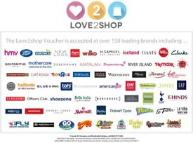 £100 Love2Shop Voucher for £90 - PayPal or Bank Transfer!