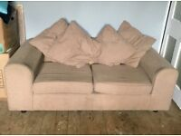 Beige Two-Seater Sofa FREE