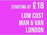 CHEAPEST ILFORD Man & Van. Starting £12! Save 80%! UK Govt. approved.