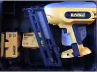 DeWalt battery 2nd fix nail gun