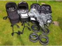 Mountain buggy duet system