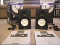 Yamaha HS50 Monitor Pair - Boxed as new