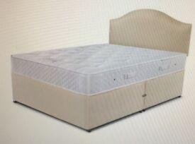 Sleepright Lorenza Single divan bed, Mattress and matching Headboard