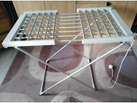 Easy home winged heated airer