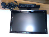 """Polaroid 15"""" LCD TV with built in DVD player"""
