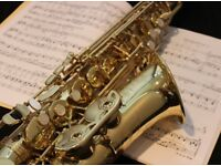 Saxophone Lessons offered!
