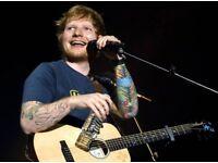 Ed Sheeran x2 Cardiff Principality Thu 21 June