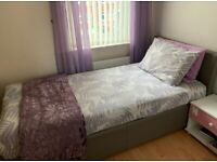SINGLE OTTOMAN BED (MATRESS INCLUDED)