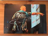 Phil Taylor signed Photo.