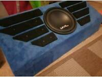Juice Subwoofer and Amplifier in Box